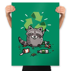 Recycle Please - Prints - Posters - RIPT Apparel