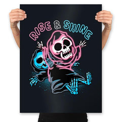 Rise And Shine - Prints - Posters - RIPT Apparel