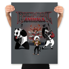 Rock & Roll Animals - Prints - Posters - RIPT Apparel