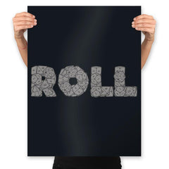 Roll On - Prints - Posters - RIPT Apparel