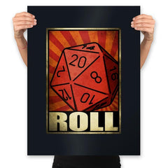 Roll The Dice - Prints - Posters - RIPT Apparel