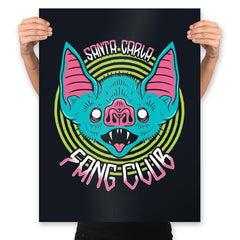Santa Carla Fang Club - Prints - Posters - RIPT Apparel