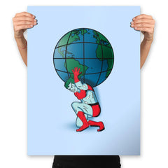 Saving the Planet - Prints - Posters - RIPT Apparel