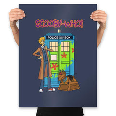 Scooby-Who - Prints - Posters - RIPT Apparel