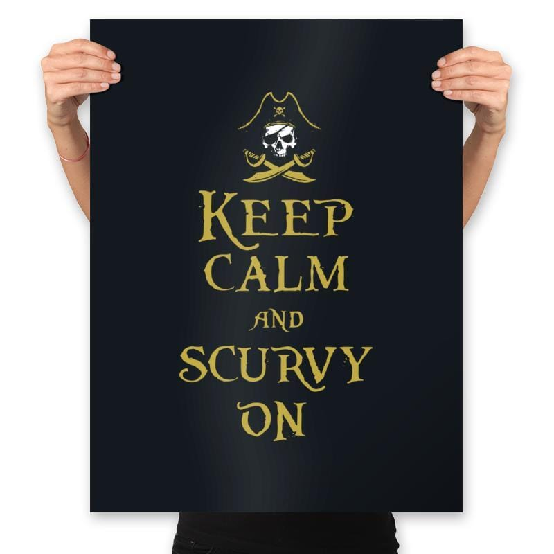 Scurvy On - Prints - Posters - RIPT Apparel