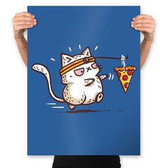 Self Meowtivation - Prints - Posters - RIPT Apparel