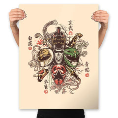 Shijin Rangers - Best Seller - Prints - Posters - RIPT Apparel