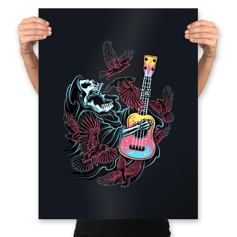 Sing For The Crows - Prints - Posters - RIPT Apparel