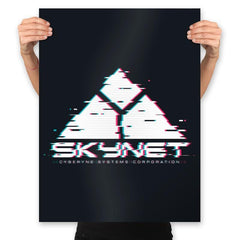 Skyglitch - Prints - Posters - RIPT Apparel