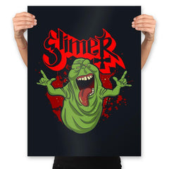 Slimy Ghost - Prints - Posters - RIPT Apparel