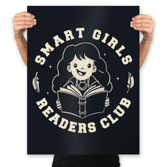 Smart Girls Readers Club - Prints - Posters - RIPT Apparel