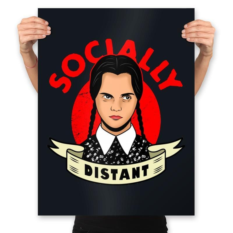 Socially Distant - Prints - Posters - RIPT Apparel
