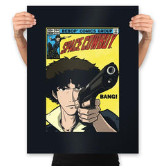 Space Comic - Prints - Posters - RIPT Apparel