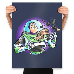 Space Guardian - Prints - Posters - RIPT Apparel