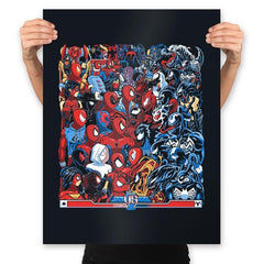 Spides VS Symbs - Best Seller - Prints - Posters - RIPT Apparel