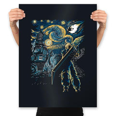 Starry Remake - Prints - Posters - RIPT Apparel
