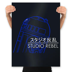 Studio Rebel - Prints - Posters - RIPT Apparel