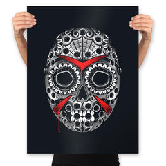 Sugar Skull Slasher - Prints - Posters - RIPT Apparel