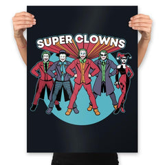 Super Clowns - Prints - Posters - RIPT Apparel