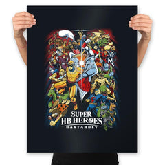 Super HB Heroes - Prints - Posters - RIPT Apparel