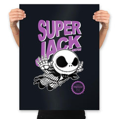 Super Jack - Prints - Posters - RIPT Apparel
