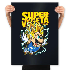 Super Vegeta Bros - Prints - Posters - RIPT Apparel