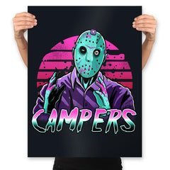 Synth Slasher - Prints - Posters - RIPT Apparel