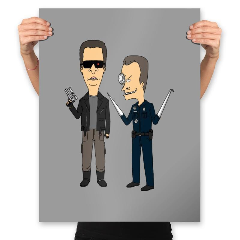 T800 and T1000 - Prints - Posters - RIPT Apparel