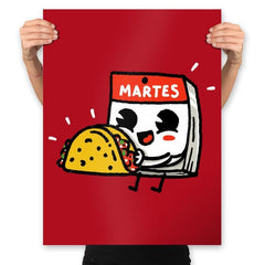 Taco Tuesday Special - Prints - Posters - RIPT Apparel