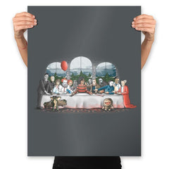 Terror Dinner - Prints - Posters - RIPT Apparel