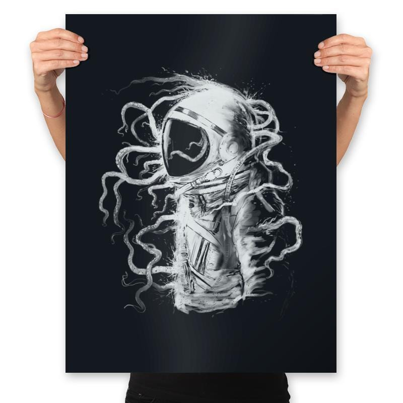 Terror In Deep Space - Prints - Posters - RIPT Apparel