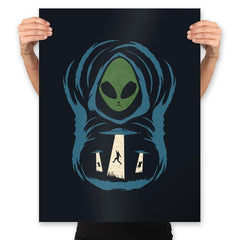 The Abduction In The Field - Prints - Posters - RIPT Apparel