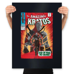 The Amazing Spartan - Prints - Posters - RIPT Apparel