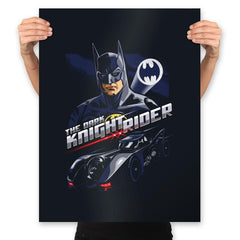 The Dark Knight Rider - Prints - Posters - RIPT Apparel