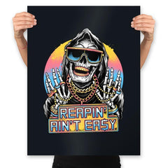 The Grim Rapper - Prints - Posters - RIPT Apparel