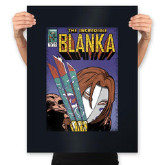 The Incredible Blanka! - Prints - Posters - RIPT Apparel