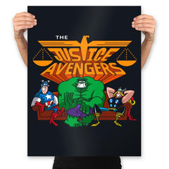 The Justvengers - Prints - Posters - RIPT Apparel