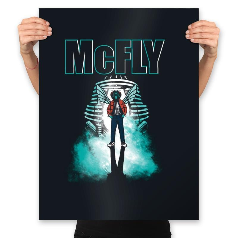 The McFly - Prints - Posters - RIPT Apparel