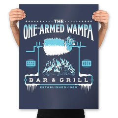 The One-Armed Wampa - Prints - Posters - RIPT Apparel