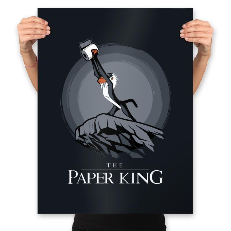 The Paper King - Prints - Posters - RIPT Apparel