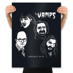 The Vamps - Prints - Posters - RIPT Apparel