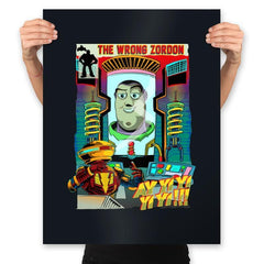 The Wrong Mentor - Prints - Posters - RIPT Apparel