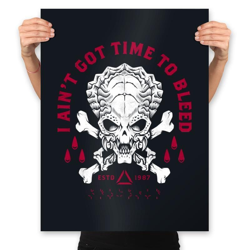 Time to Bleed - Prints - Posters - RIPT Apparel