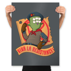 Time to Resist! - Prints - Posters - RIPT Apparel