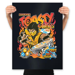 Toasty Oats - Anytime - Prints - Posters - RIPT Apparel