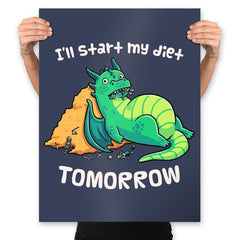 Tomorrow is a New Day - Prints - Posters - RIPT Apparel