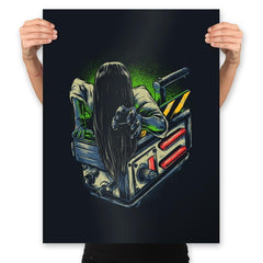 Trapped Ghost - Prints - Posters - RIPT Apparel