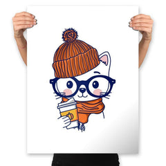 Trendy Cat - Prints - Posters - RIPT Apparel