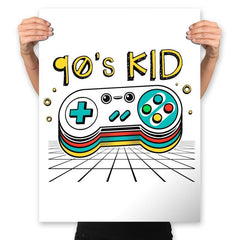 Ultimate 90's Kid - Prints - Posters - RIPT Apparel