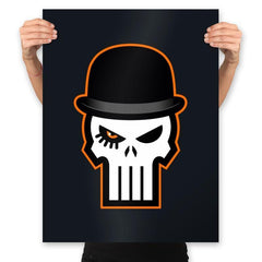 Ultra Violent Punisher - Prints - Posters - RIPT Apparel